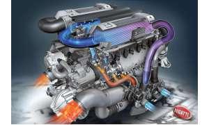 Bugatti Veyron Motor