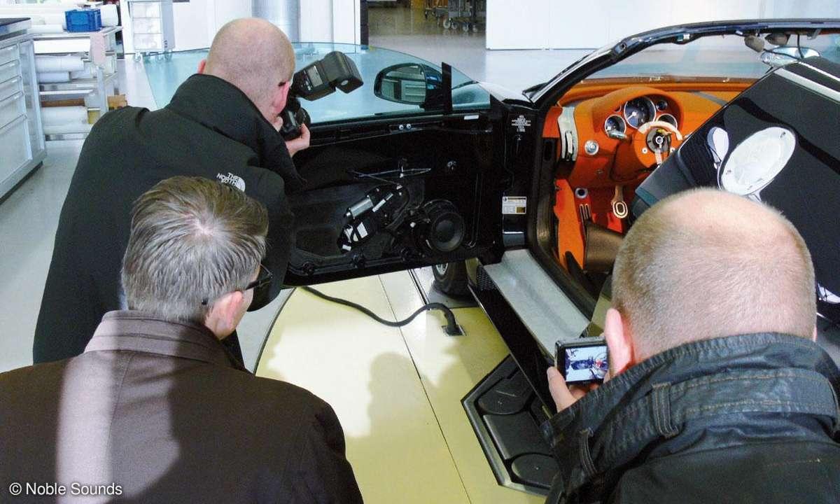 Bugatti Veyron Türverkleidung