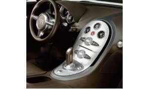 Bugatti Veyron Mittelkonsole