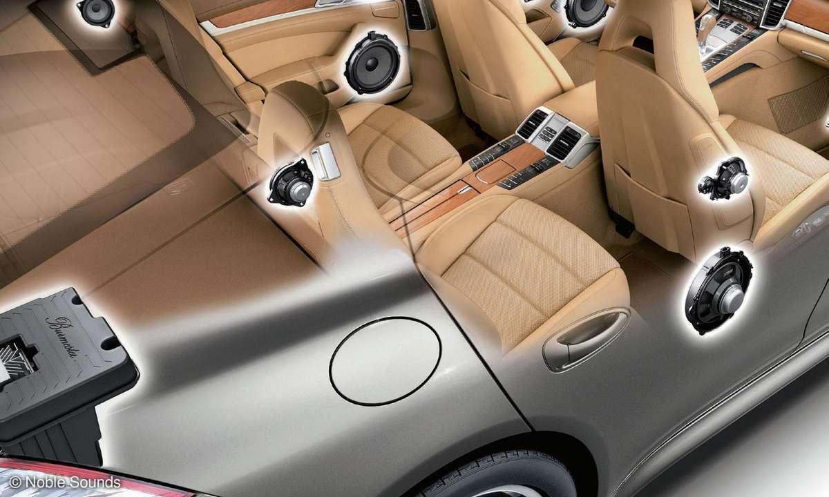 Porsche Panamera S Boxenverteilung