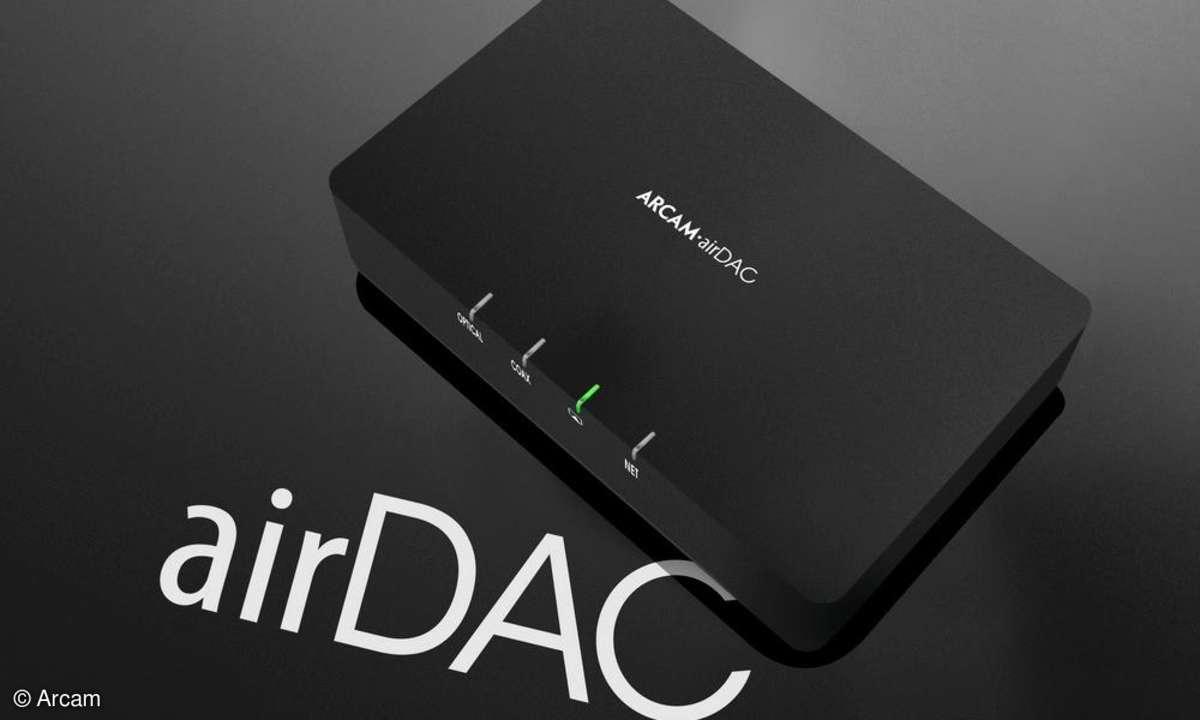 Audiosystem,D/A Wandler,airDAC,Arcam