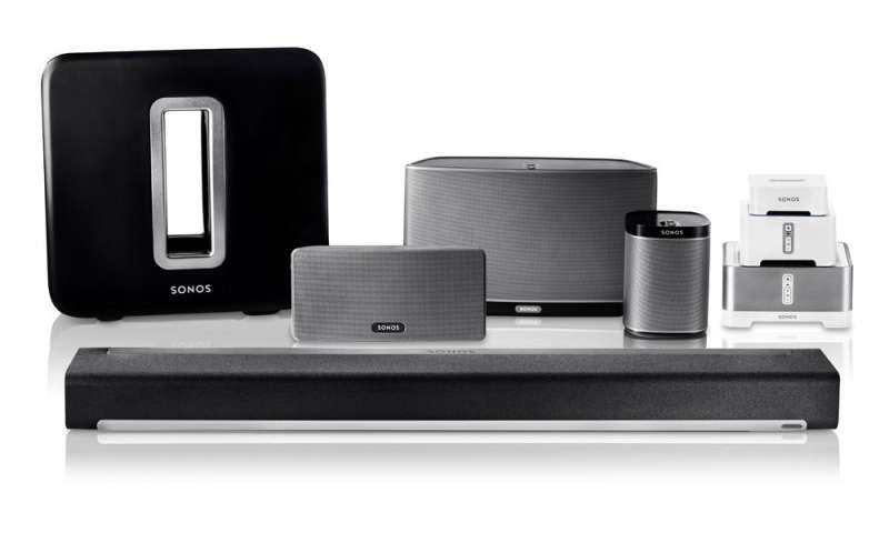 sonos system die streaming lautsprecher im einsatz connect. Black Bedroom Furniture Sets. Home Design Ideas
