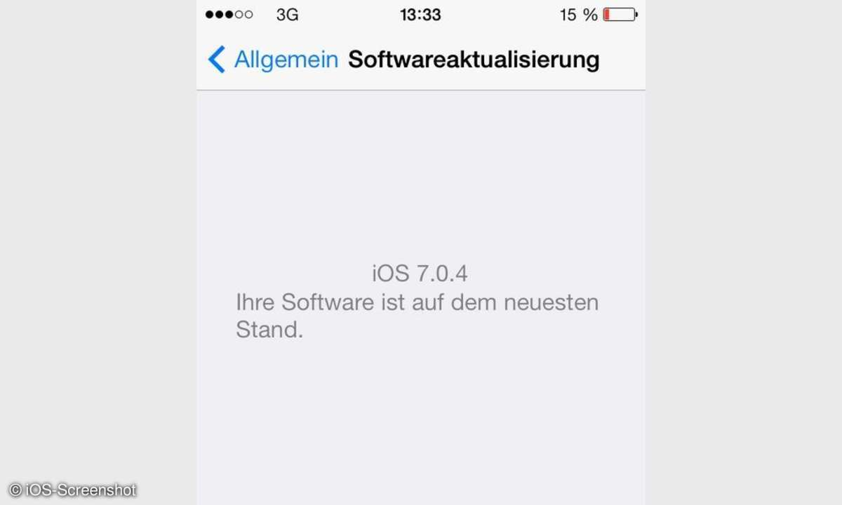 Jailbreak für iOS 7