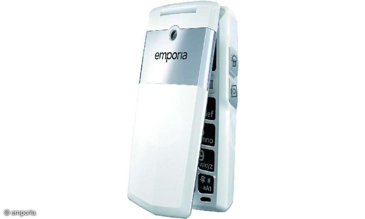 Das Emporia Click ist das erste Emporia-Mobiltelefon mit einer Kamera.