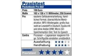 Praxistest Pocketbook Pro 602