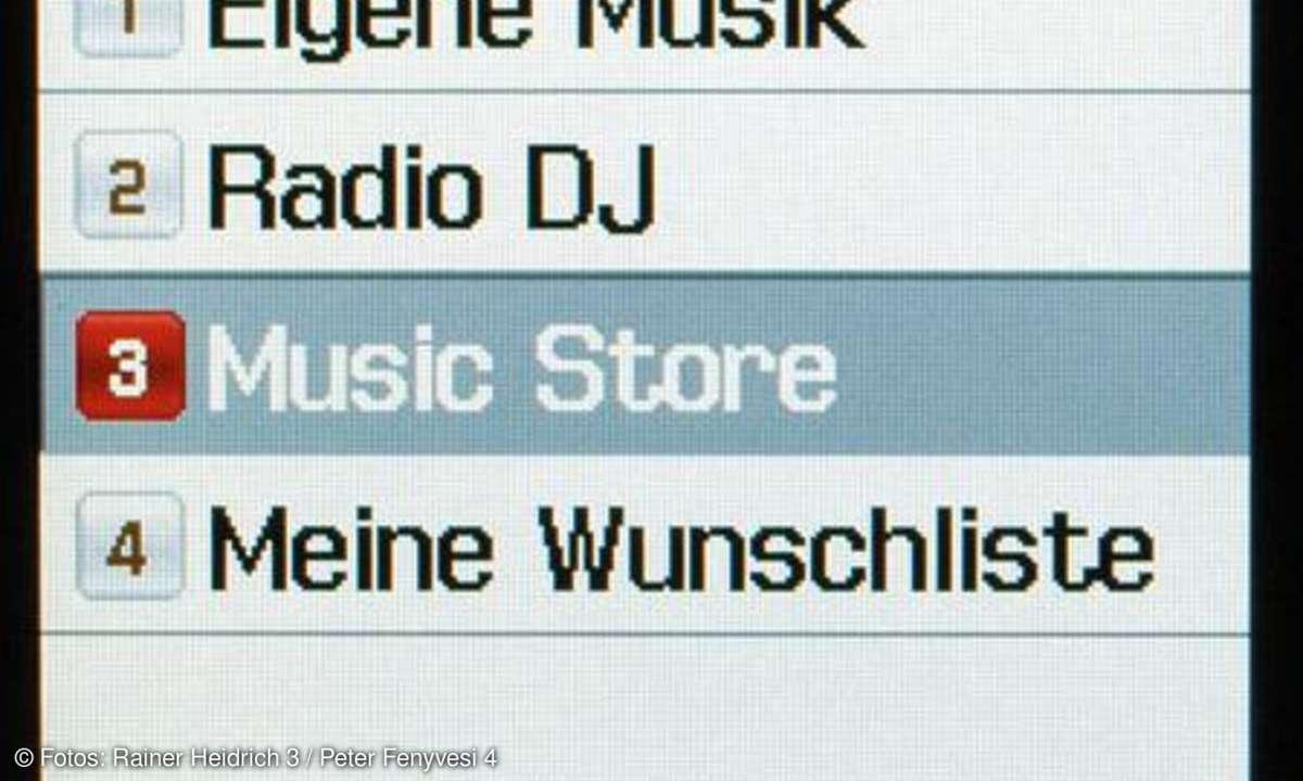Musikmenü