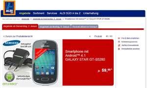 Samsung Galaxy Star,Aldi Süd