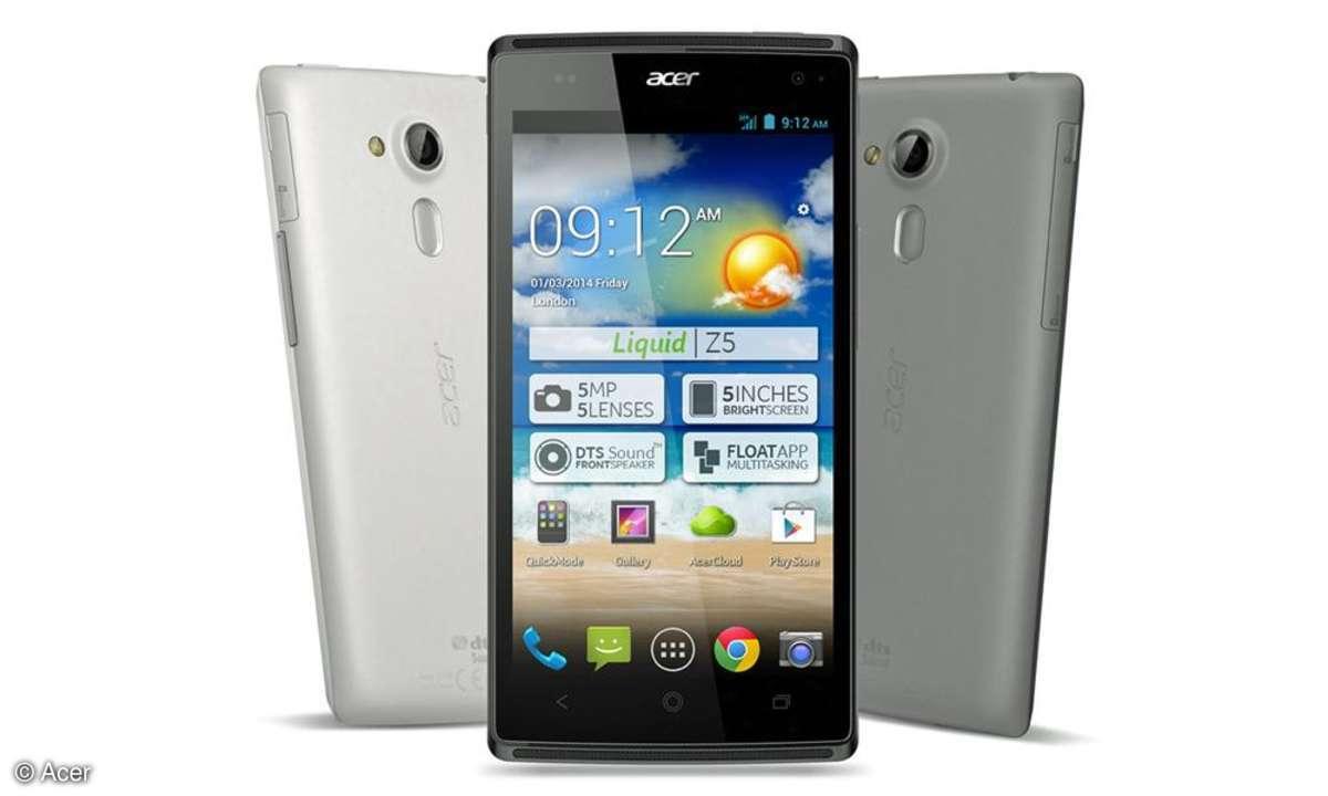 Acer Liquid Z5,5-Zoll