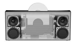 Sony CMT-X7CD, Lautsprecher, CES 2014