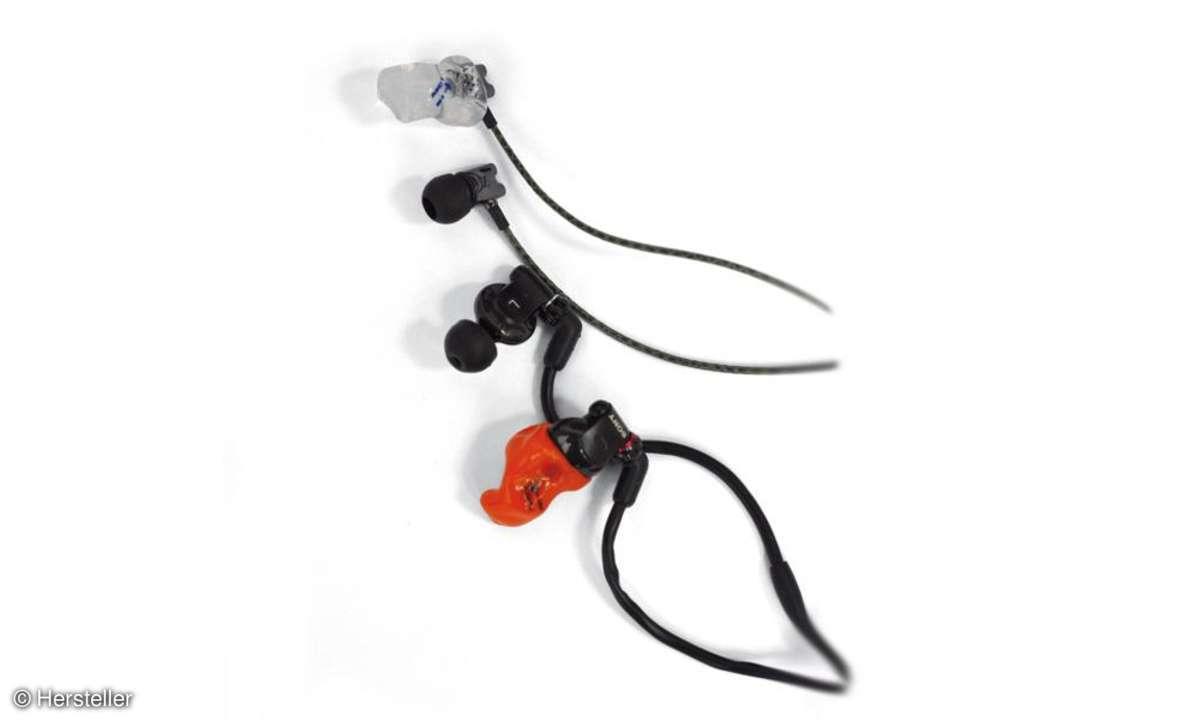 In-Ear-Kopfhörer mit Custom Sleeves