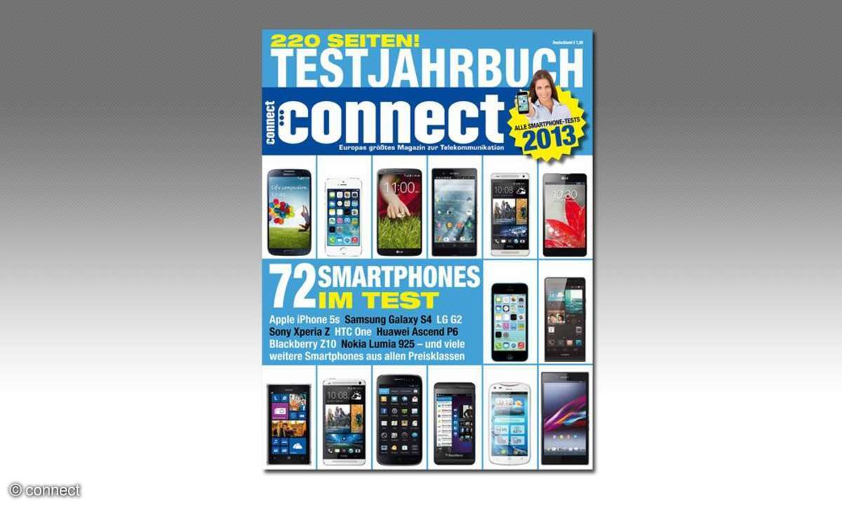 connect Testjahrbuch 2013