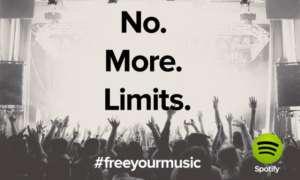 Spotify ab sofort gratis ohne Zeitlimit