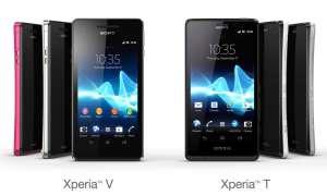 Sony Xperia V, Xperia T
