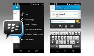 Blackberry Messenger im Test