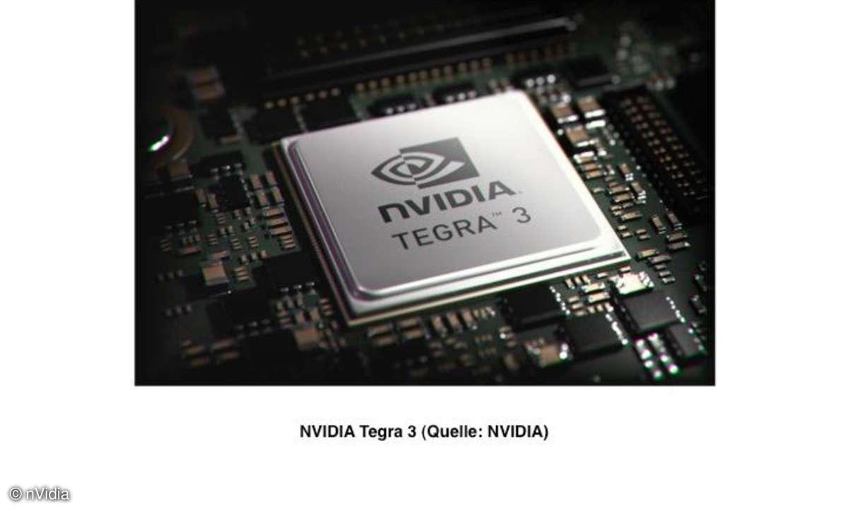 Tegra3 Prozessor von nVidia
