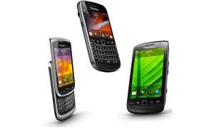 Blackberry Torch 9810, Bold 9900 und Torch 9850