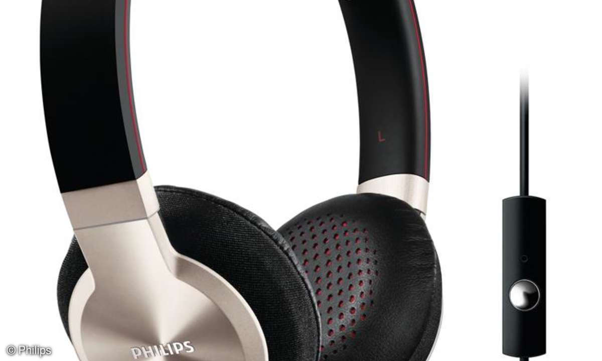 Philips Android Zubehör, On-Ear-Headset SHL9705A