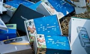 Handys zum Recyclen