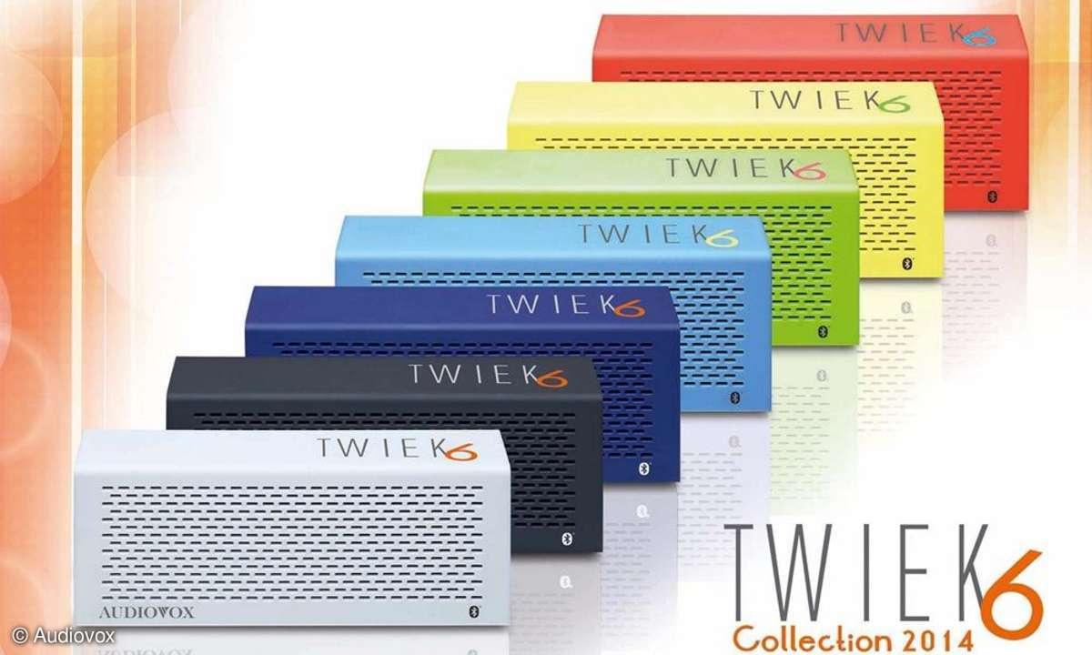 Audiovox, tweak6, lautsprecher, stereolautsprecher, bluetooth