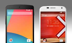 Google Nexus 5, Motorola Moto X