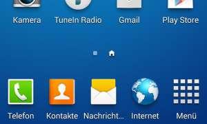 Samsung Touchwiz, Screenshots