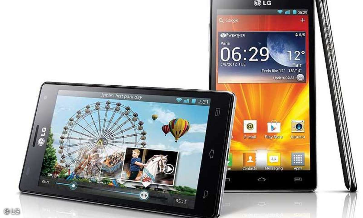 LG Optimus 4X HD (P880) im Test