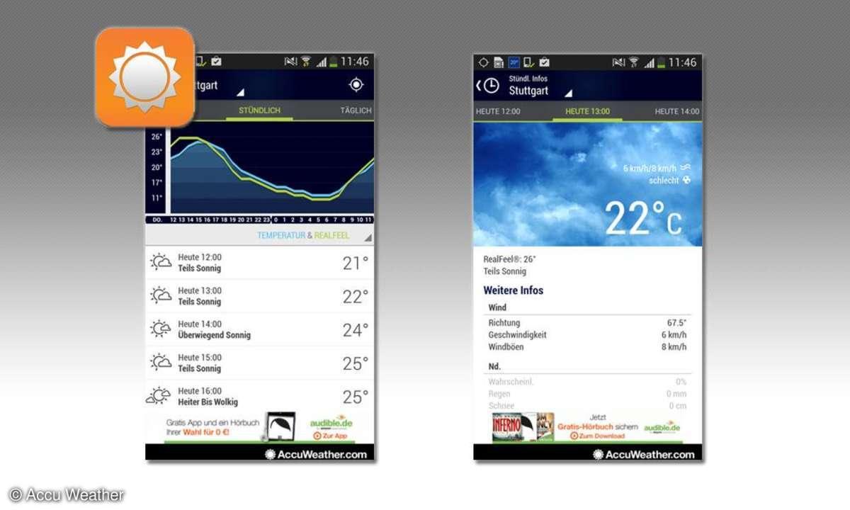 Accu Weather App