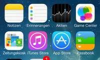 iOS 7, Screenshot