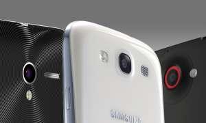 Padfone 2, Galaxy S3, HTC One X+