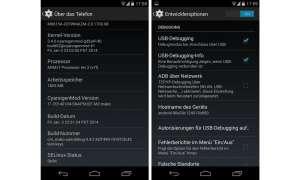 Android rooten, App für Smartphone