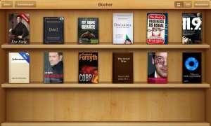 Apple bietet selbst E-Books für das iPad an.