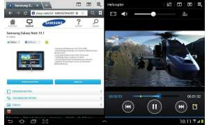 Samsung-Tablet Galaxy Note 10.1 - Multiscreen