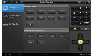 Samsung-Tablet Galaxy Note 10.1 - Smart Remote
