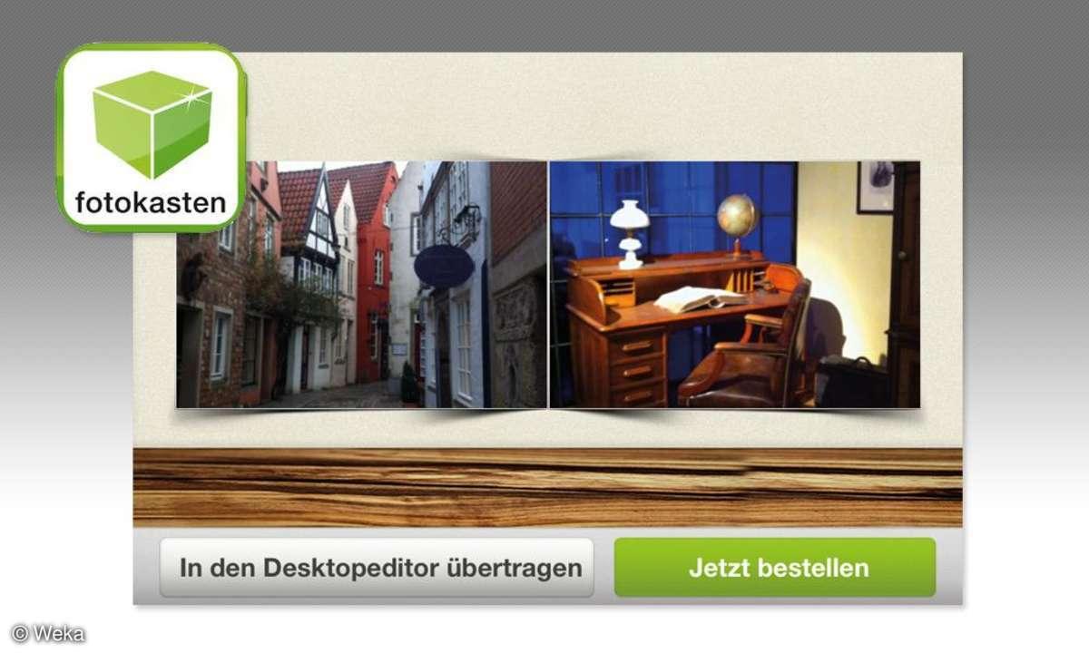 Fotobuch per Handy - Fotokasten