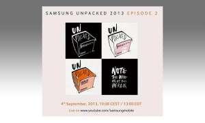 Samsung Unpacked Event 2013