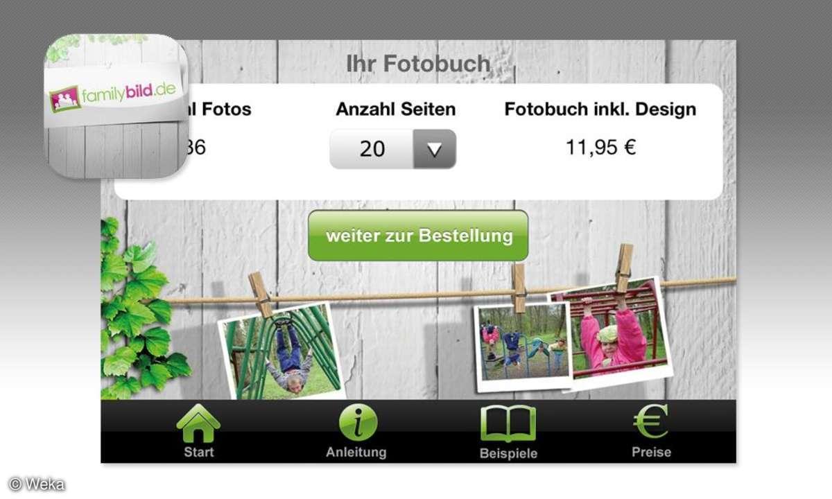 Fotobuch per Handy - Family Bild