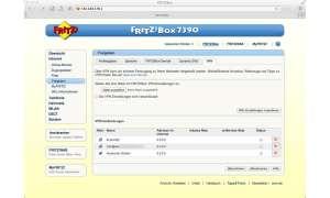 FritzBox Konfiguration