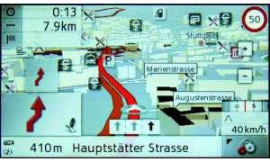 Testbericht Becker Traffic Assist Z 201