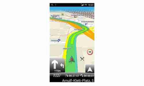 Mapfactor Navigator im Test - connect