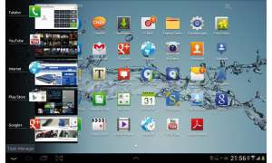 Galaxy Tab 2 10.1 - Multitasking-Talente