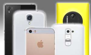 Foto-FinishSmartphone-Kameras Apple, iPhone 5s, LG G2, Nokia Lumia 1020, Samsung Galaxy S4, Sony Xperia Z1, Test