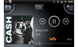 xperia active musikplayer