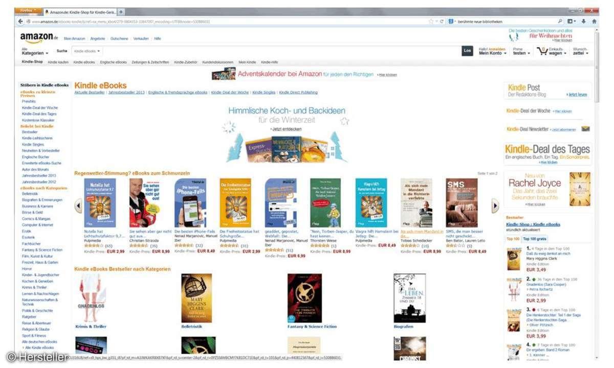 Kindle Shop, Ebook, Amazon
