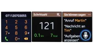 Display Anzeige Galaxy Gear