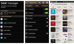 Galaxy Gear Manager
