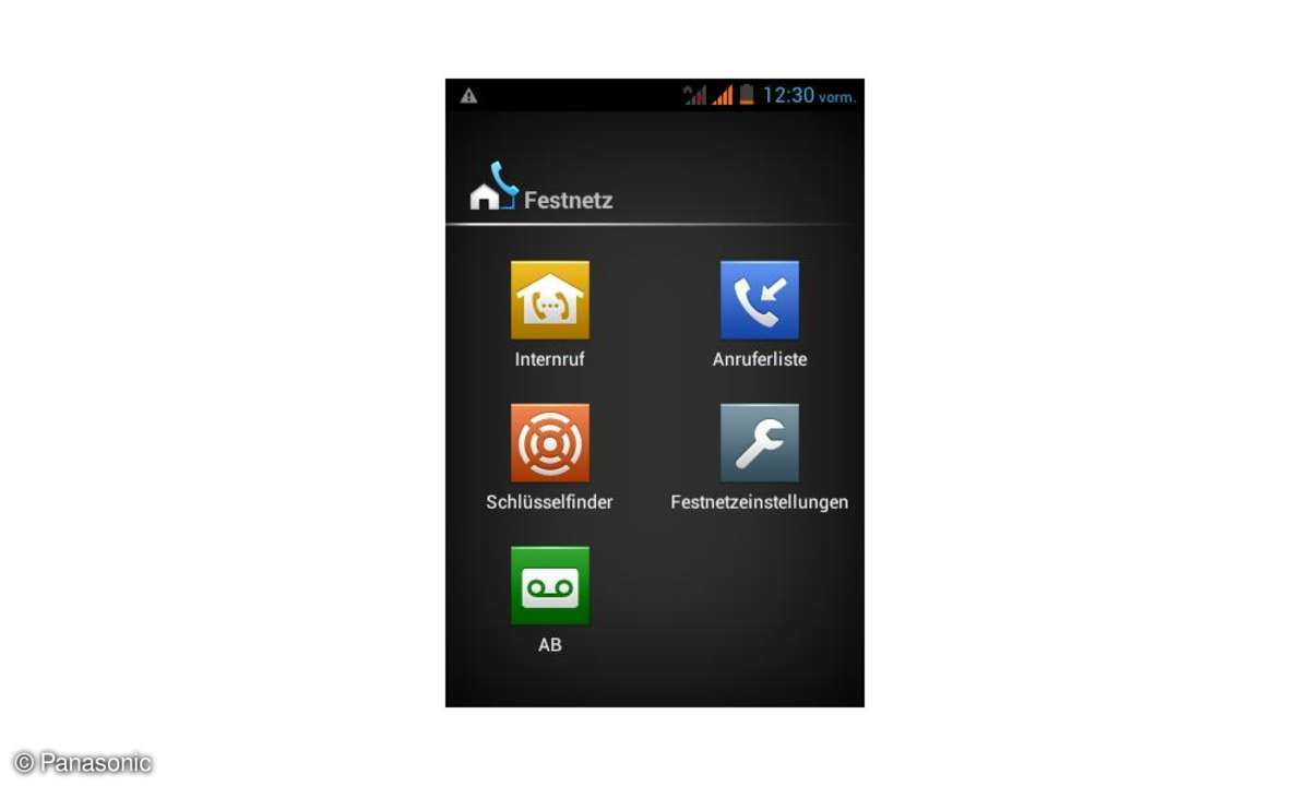 Panasonic KX-PRX120 Festnetz-App