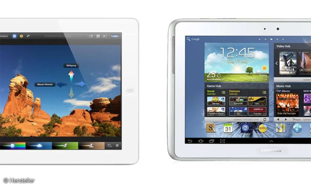iPad 3, Galaxy Note 10.1