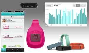 Fitbit-Tracker und Fitbit-App