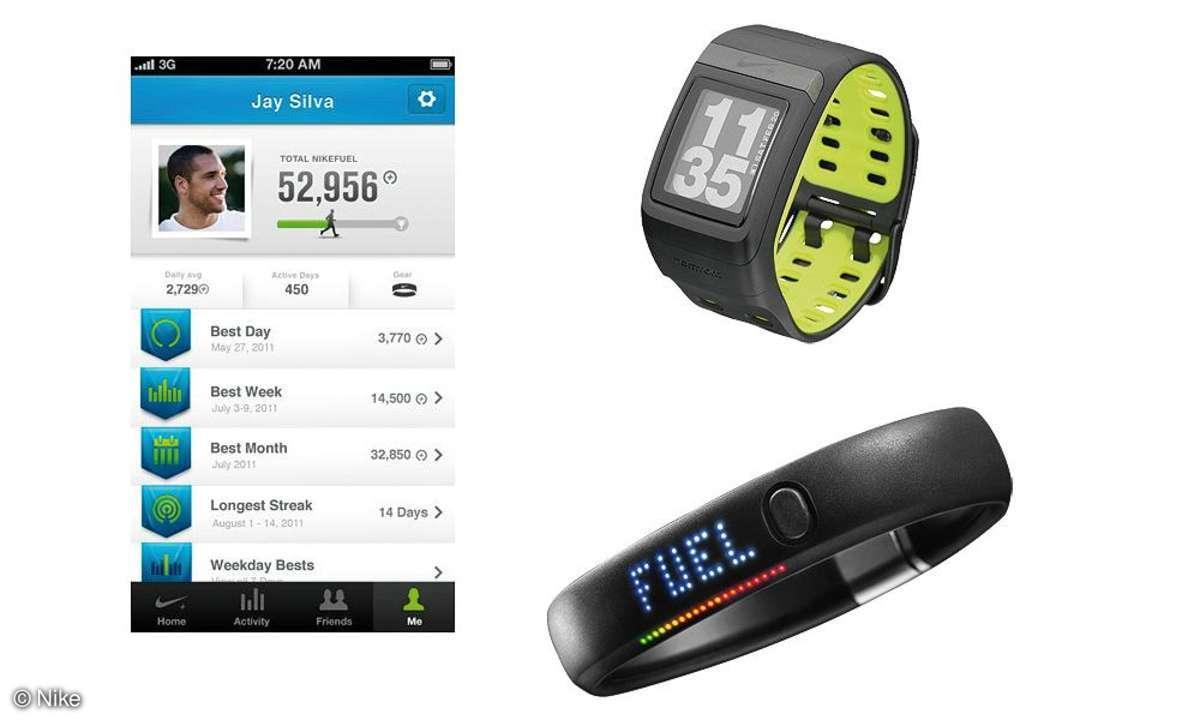 Nike Fuelband & Nike Sportwatch GPS