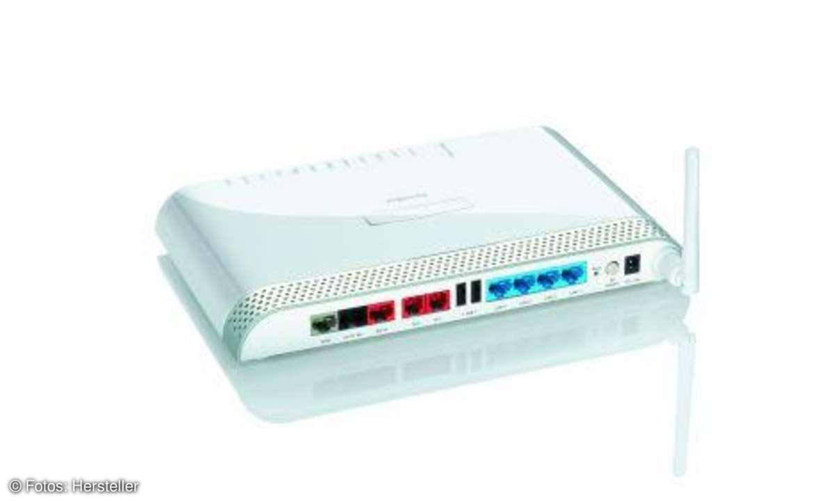Testbericht D-Link HorstBox DVA-G3342SD